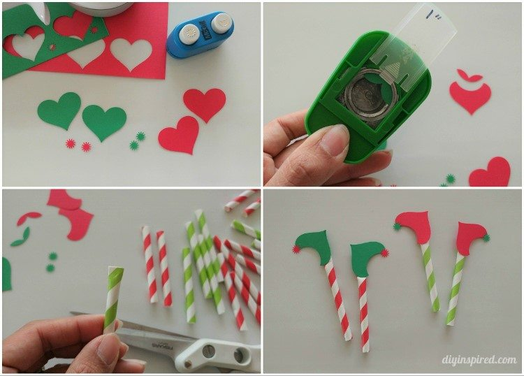 how-to-make-christmas-elf-legs-cupcake-toppers