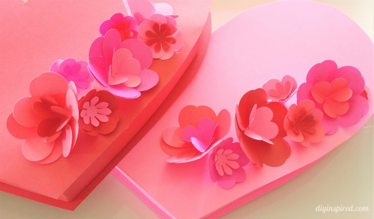 how to make a valentine box out of paper