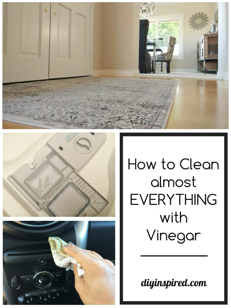 how to clean with vinegar diy inspired. Black Bedroom Furniture Sets. Home Design Ideas