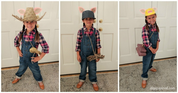 Three little pigs diy costumes diy inspired three little pigs diy costumes solutioingenieria Gallery
