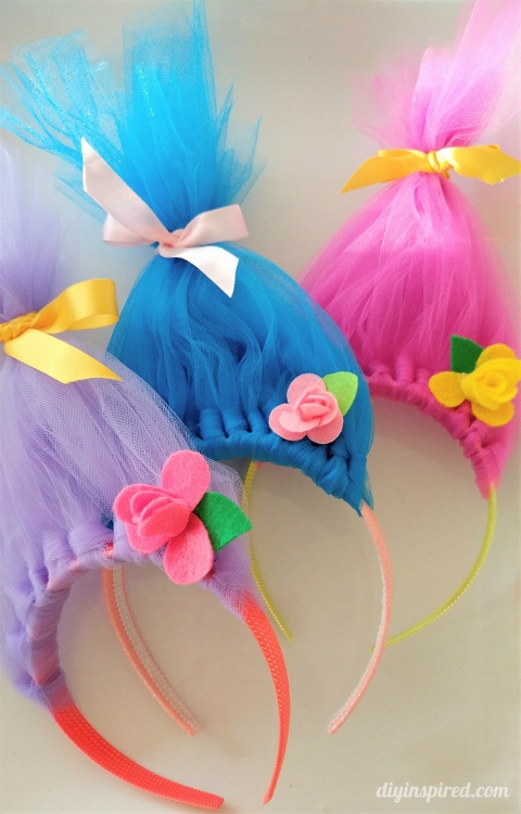 e28cf6f82780 They are fun to make and would also make a great craft at a Troll themed  birthday party. OR
