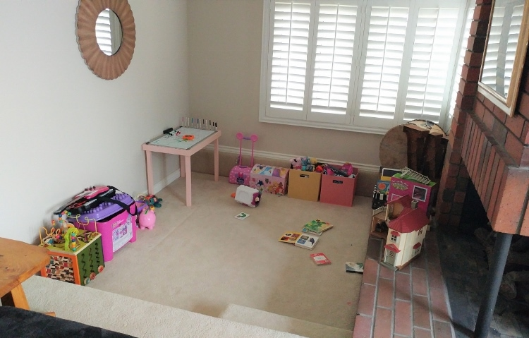 baby play area in living room how to create a play area in the living room diy inspired 25263