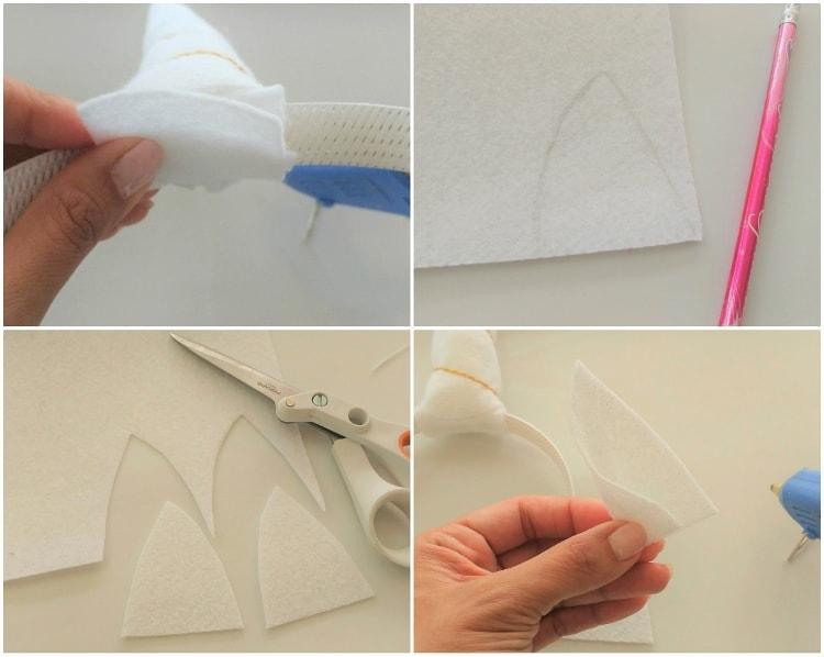 How To Make An Easy Unicorn Headband Diy Inspired