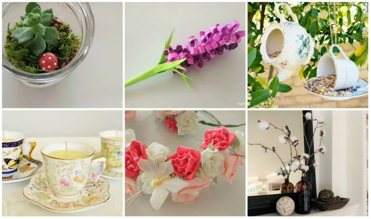 12 spring craft ideas for adults diy inspired for Spring craft ideas for adults