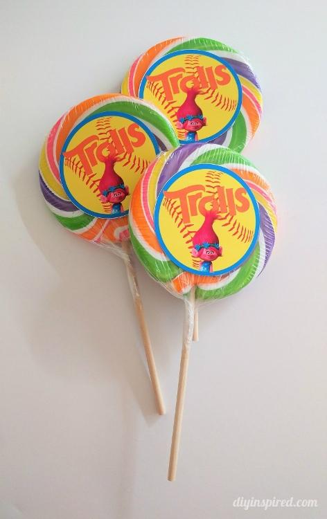 Trolls Party Favor Idea  DIY Inspired