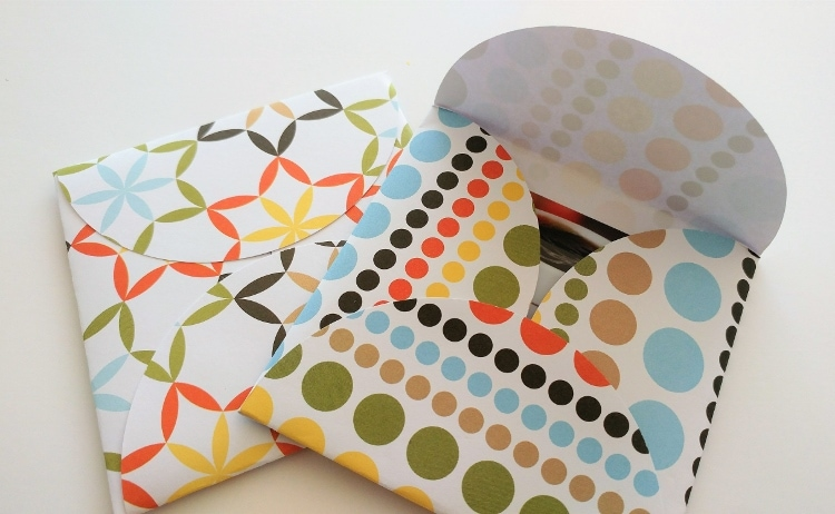 How To Make An Envelope Out Of Circles