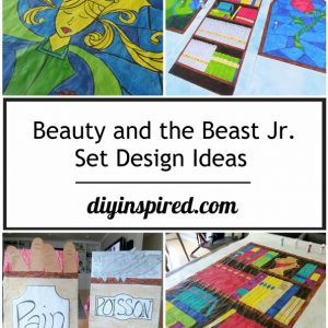 Beauty And The Beast Jr Set Design Ideas Diy Inspired Diy Inspired