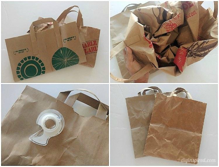 brown paper bag gift wrapping diy inspired. Black Bedroom Furniture Sets. Home Design Ideas