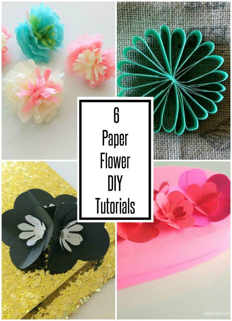 6 easy paper flower diy ideas diy inspired like it pin it mightylinksfo