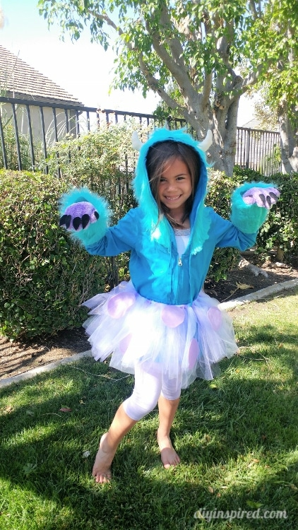 Like it? Pin it!  sc 1 st  DIY Inspired & DIY Sulley Costume from Monsteru0027s Inc. - DIY Inspired