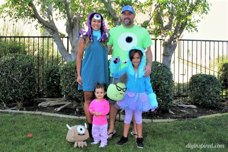 Monsteru0027s Inc. Family Halloween Costumes  sc 1 st  DIY Inspired : diy family halloween costume ideas  - Germanpascual.Com