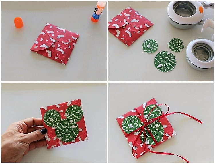 Make an Easy DIY Gift Card Holder out of Circle Craft Punches
