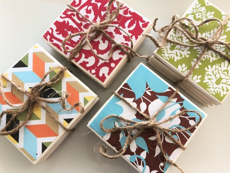Diy Repurposed Ceramic Tile Coasters Diy Inspired