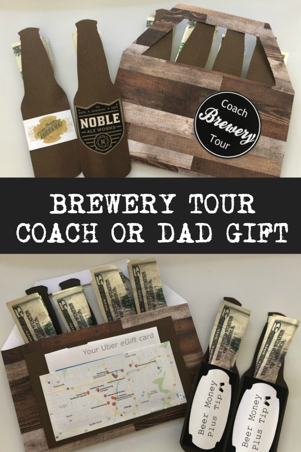 Give the Perfect Gift for Coach or Dad Using this Fun Brewery Tour Idea