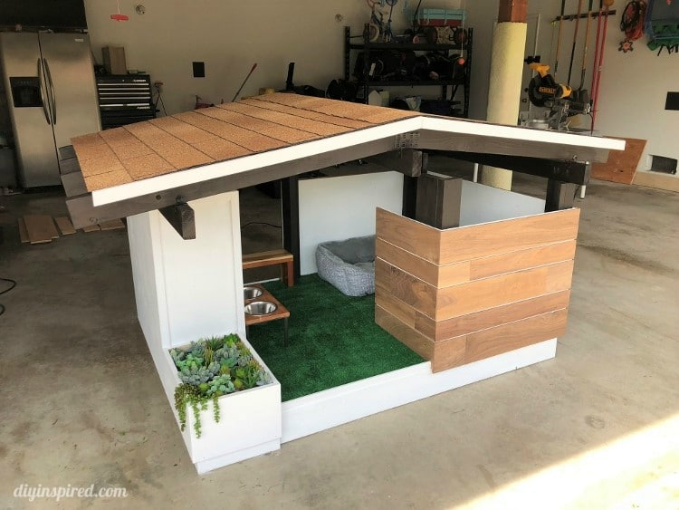 Mid Century Modern Diy Dog House Build Diy Inspired