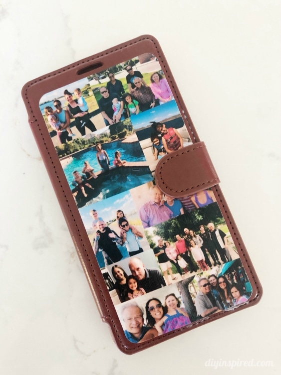 DIY Photo Cell Phone Case Father's Day Gift