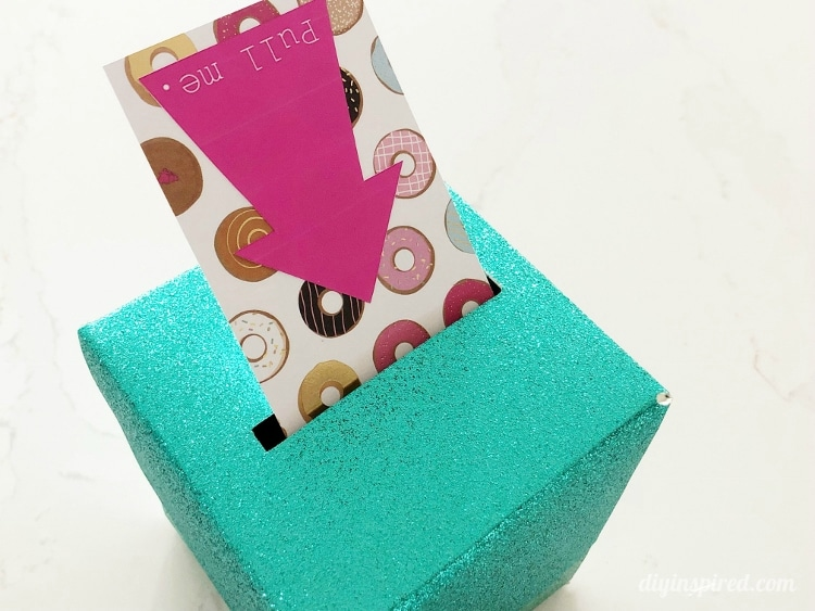 DIY Pop Out Money Gift Box