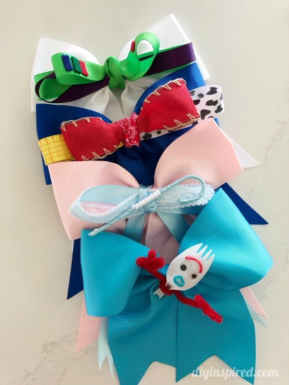 Toy Story 4 DIY Hair Bows